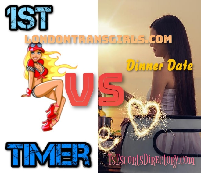 Thai Ladyboy Experience First Timer vs Dinner Date